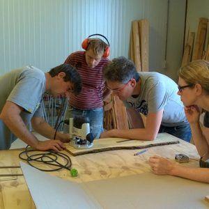 Workshop Snijplank maken